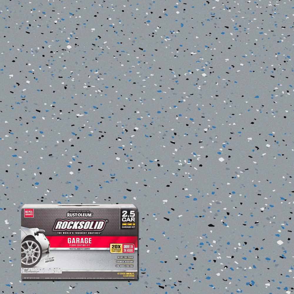 152 oz. Gray Polycuramine 2.5 Car Garage Floor Kit