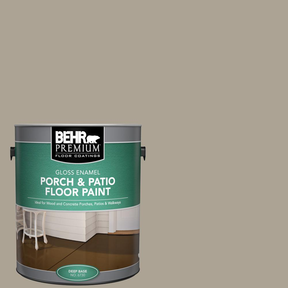 1 gal. Home Decorators Collection #HDC-NT-14 Smoked Tan Gloss Enamel Interior/Exterior Porch and Patio Floor Paint